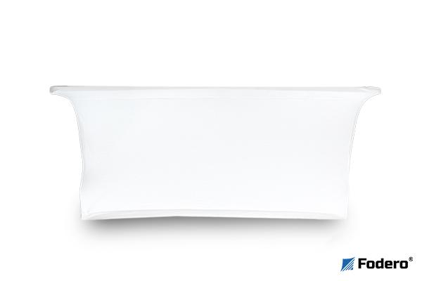 Pokrowiec na stół w wersji closed wygląda tak samo z przodu i tyłu