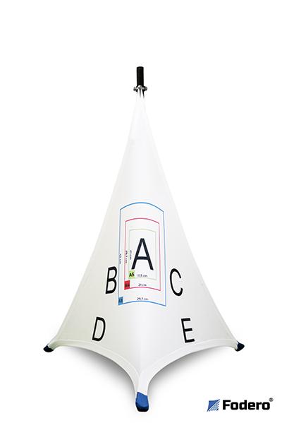 osłona pokrowiec na statyw z nadrukiem logo logotypem